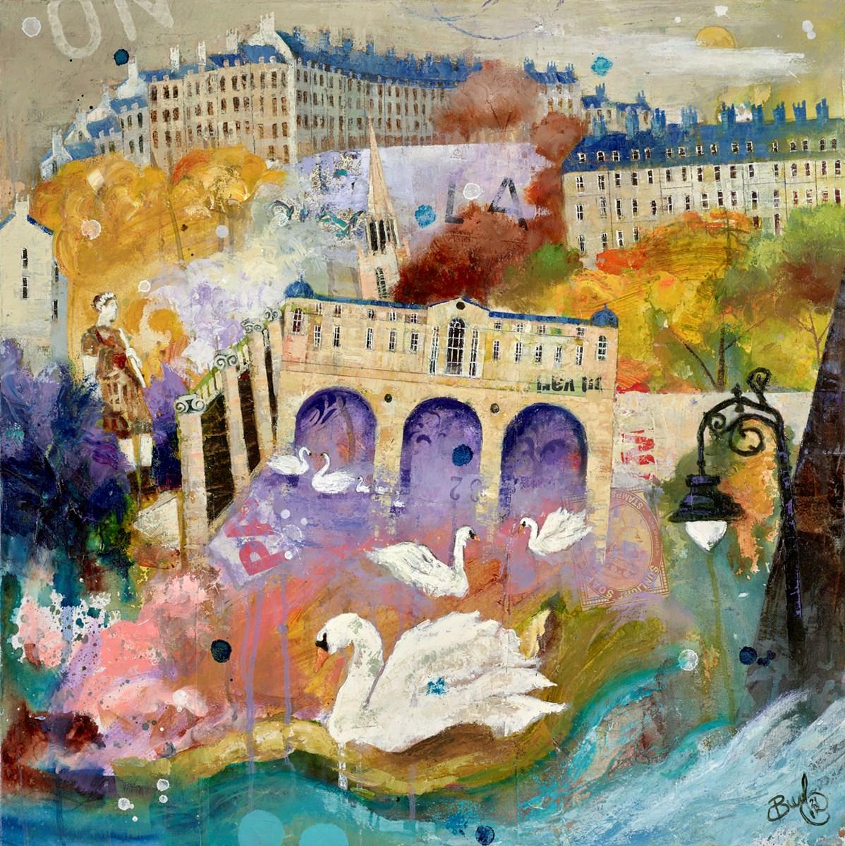 Swans of Bath II